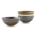 STONE  4-Pc Met Bowl Set, 4.5""