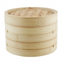 3-Piece Bamboo Steamer Set, 10""
