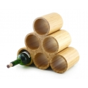 Bamboo Wine Rack, 6-Bottle