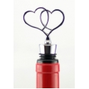 Wine Stopper, 2-Heart Shape