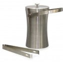 Stainless Steel Ice Bucket with Tong