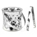 Cosmo Double Wall Concave Ice Bucket, 6""