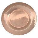 Copper Charger Plate, 13""