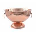 Copper Footed Champagne Bowl, 11.75""