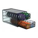 2-Tier T-Disc Drawer, 2x32 Capsules