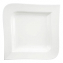DU LAIT Delight Square Soup Plate, 10""