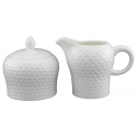 DU LAIT Lancaster Round Sugar and Creamer Set