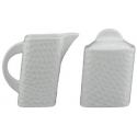 DU LAIT Lancaster Square Sugar and Creamer Set