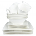 DU LAIT 16-Piece Dinner Set