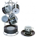 "13-Piece Espresso Set - ""The Thirties"""