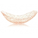 "FABLE Rectangle Tray 15x9x4.5"",  Rose Gold"