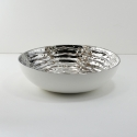 FABLE Silver Ripple Bowl, 11.25""