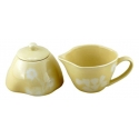ORGANIC Sugar & Creamer Set (Yellow)