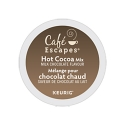 Cafe Escapes® Milk Choc Hot Cocoa 4/24 CT