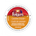 Folgers Gourmet Caramel Drizzle, 4/24 CT