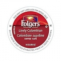 Folgers Gourmet Lively Colombian, 4/24 CT