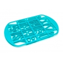 MRS. FIELDS Birthday Cookie Cutter Grid