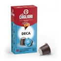 Cagliari Decaf Coffee Capsules, Compatible with Nespresso Machines (16 boxes of 10 = 160 capsules)