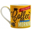 "Coffee Mug in Gift Box - ""Morning"""