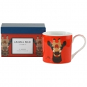 "Animal Coffee Mug in Gift Box - ""Giraffe"""
