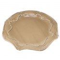 "ROYALE Platter, 12.75"" (Brown)"