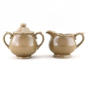 ROYALE Sugar & Creamer Set (Brown)