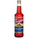 Torani Strawberry Syrup, 750ml