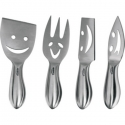 Trudeau Stainless Steel Cheese Knives