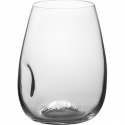 Trudeau Azzura Stemless Wine Glasses 16 OZ, Set of 4