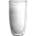 Trudeau Duetto Double Wall Glass 17oz, Set of 2