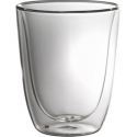Trudeau Duetto Double Wall Glass 11oz, Set of 2
