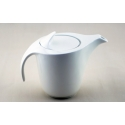 WHITE TIE Gaston Teapot with Infuser, 9.25""