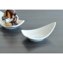 WHITE TIE Mini Triangular Dish, 3½""
