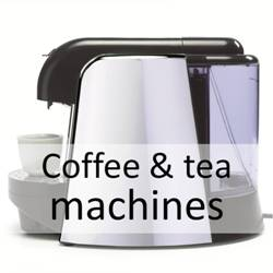 Coffee & tea machines